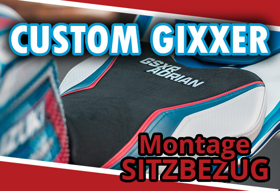 Montagevideo: Suzuki GSXR 1000 // Custom Sitzbezug