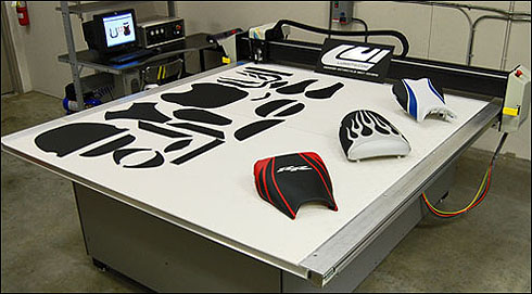 Luimoto seat cover production